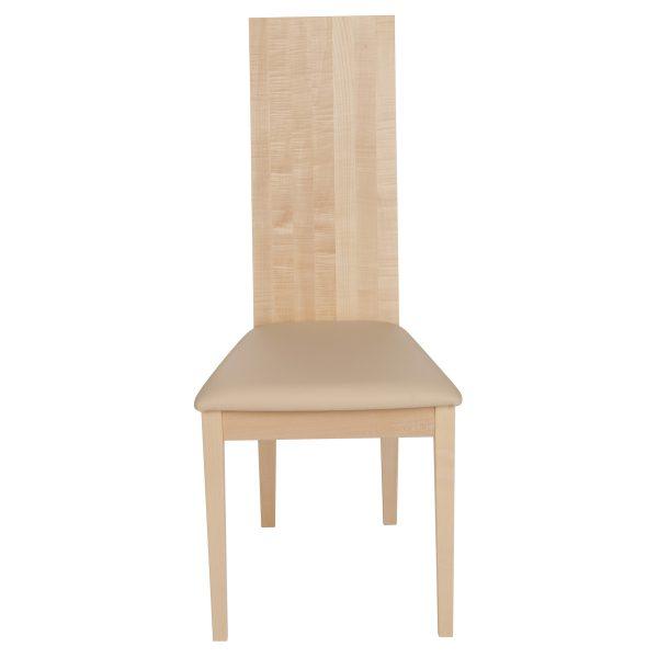 Stuhl Ahorn massiv, geölt und gepolstert 1030-2