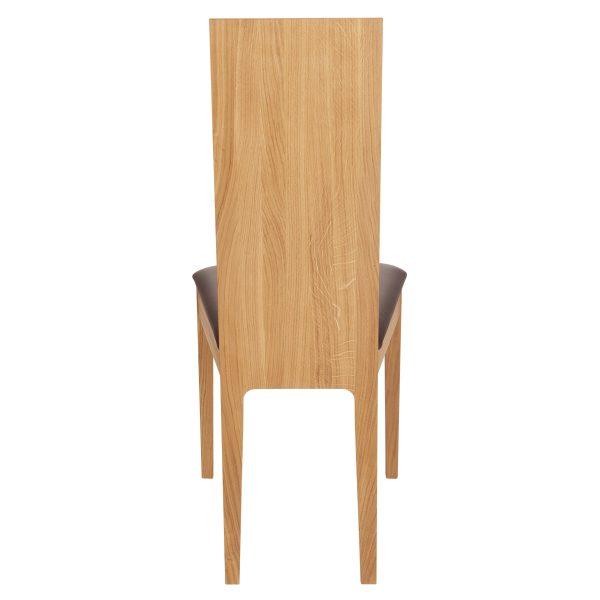 Stuhl Eiche massiv, geölt und gepolstert 1030-5