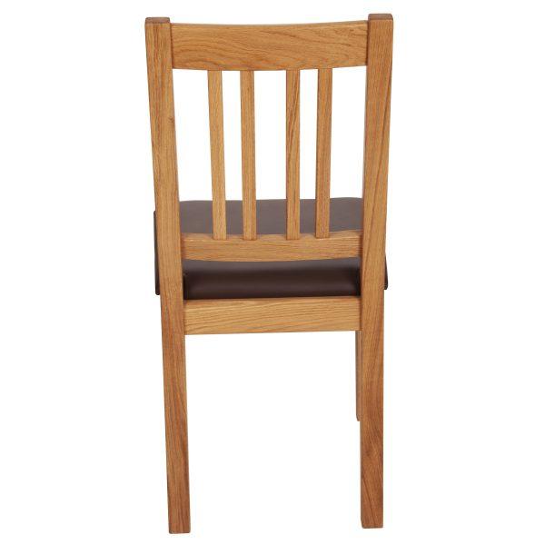Stuhl Eiche massiv, geölt und gepolstert 1110-5