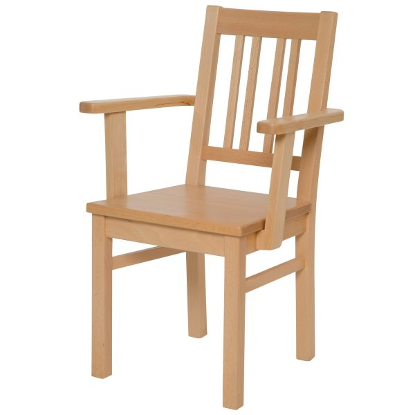Massivholz Stuhl 1110L-1
