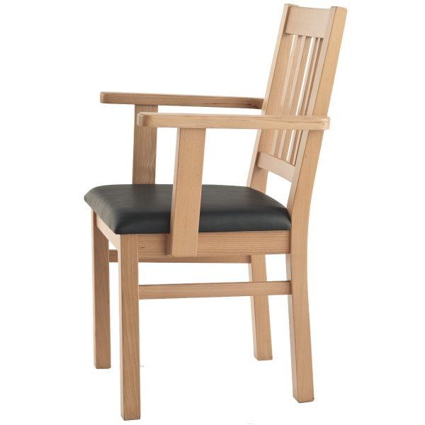 Massivholz Stuhl 1110L-2