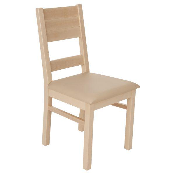 Stuhl Ahron massiv, geölt und gepolstert 1170-1