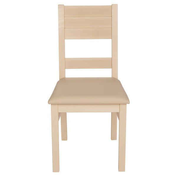 Stuhl Ahron massiv, geölt und gepolstert 1170-2