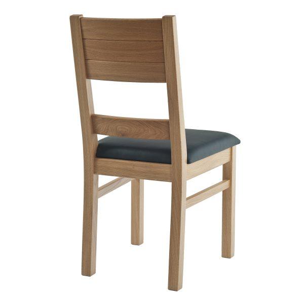 Stuhl Eiche massiv, geölt und gepolstert 1170-2