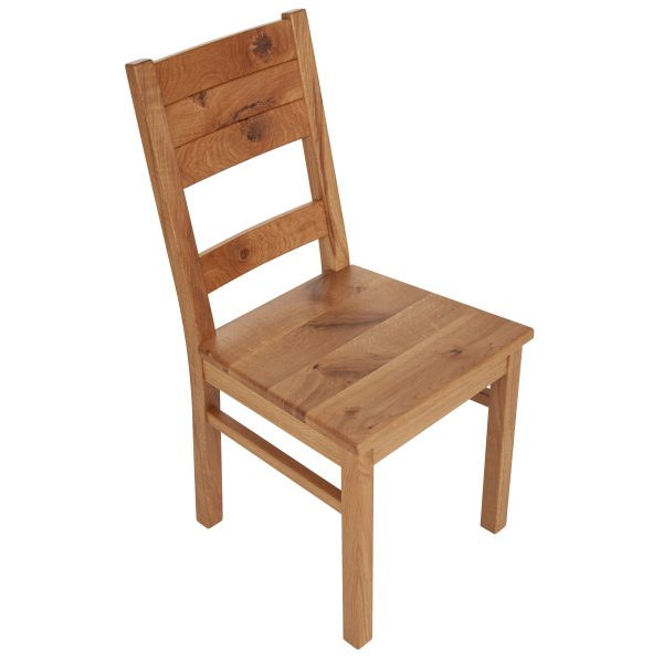Stuhl Wildeiche massiv, geölt 1170-2