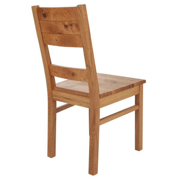 Stuhl Wildeiche massiv, geölt 1170-3