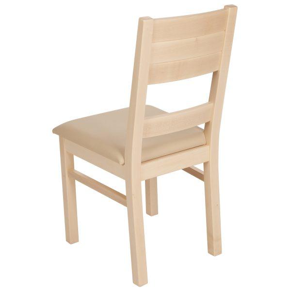 Stuhl Ahron massiv, geölt und gepolstert 1170-5