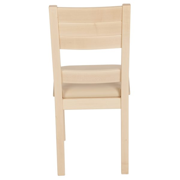 Stuhl Ahron massiv, geölt und gepolstert 1170-4