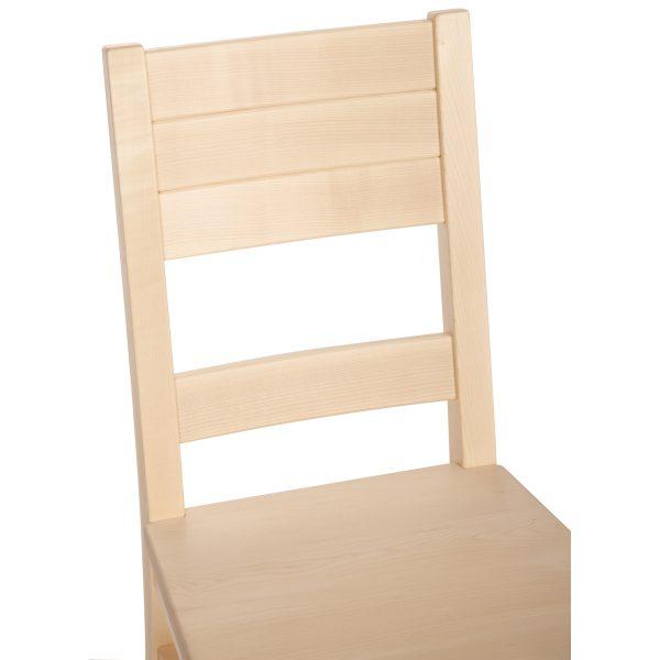 Stuhl Ahorn massiv, geölt 1170-6