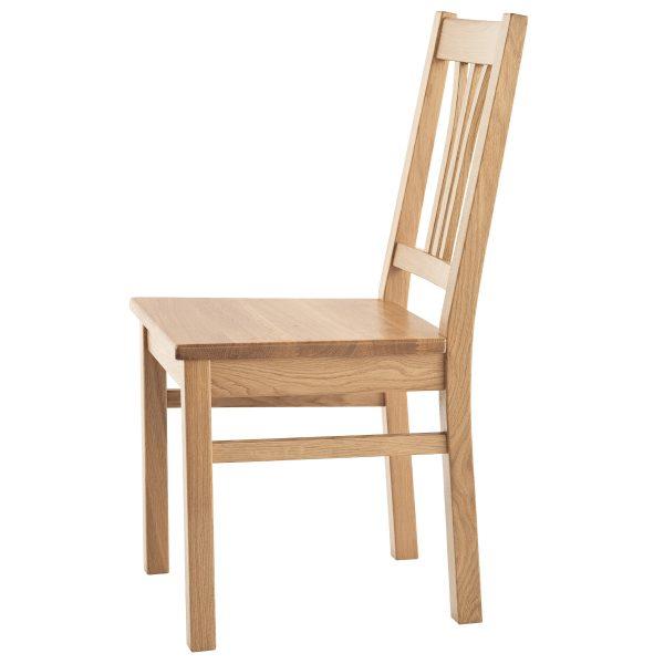 Stuhl Eiche massiv, geölt 1210-2
