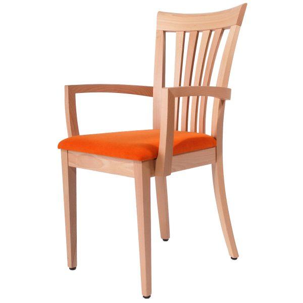 Massivholz Stuhl 1300L-1