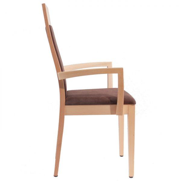 Massivholz Stuhl 1380L-3