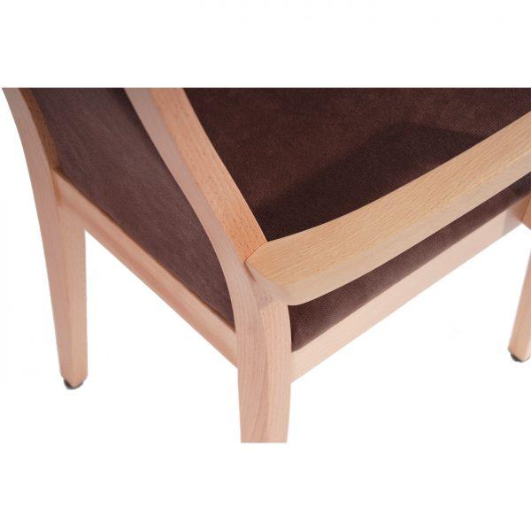 Massivholz Stuhl 1380L-6