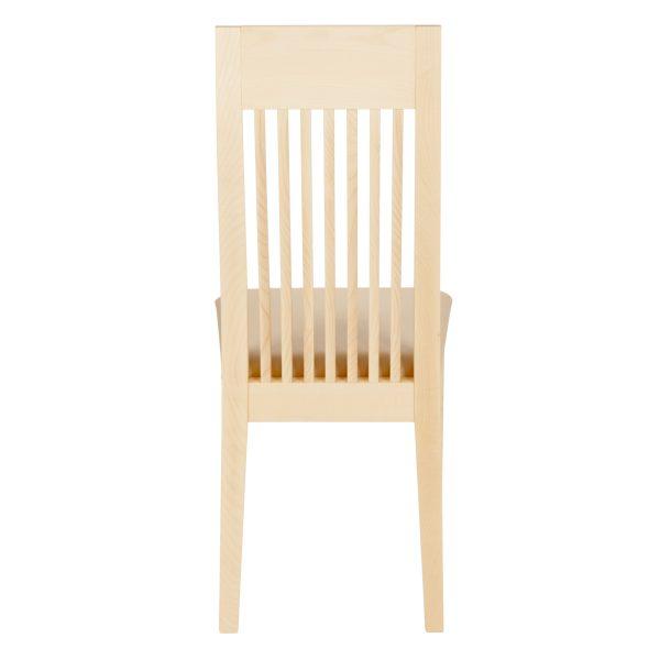 Stuhl Ahorn massiv, geölt und gepolstert 1390-5