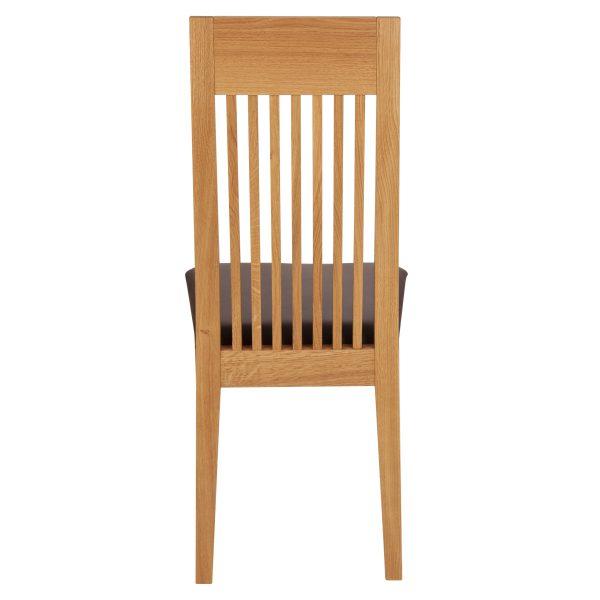 Stuhl Eiche massiv, geölt und gepolstert 1390-5