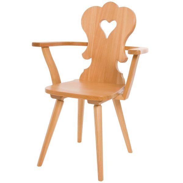 Massivholz Stuhl 1610L-1