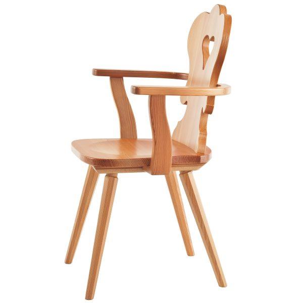Massivholz Stuhl 1610L-2