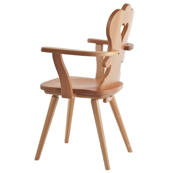 Massivholz Stuhl 1610L-3