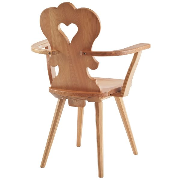Massivholz Stuhl 1610L-4
