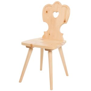 Massivholz Stuhl 1700-1