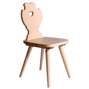 Massivholz Stuhl 1760-1