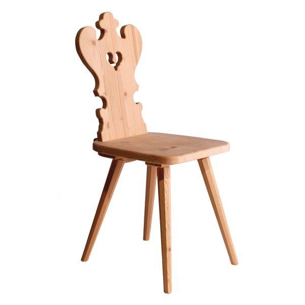 Massivholz Stuhl 1780-1