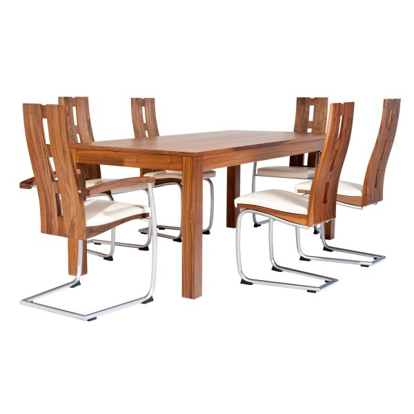 Ausziehbare Massivholz Tisch 18000-3