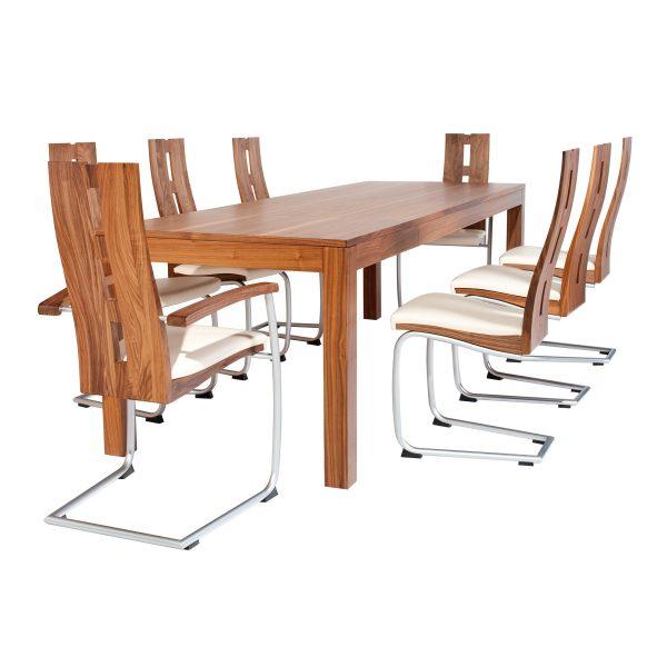 Ausziehbare Massivholz Tisch 18000-4