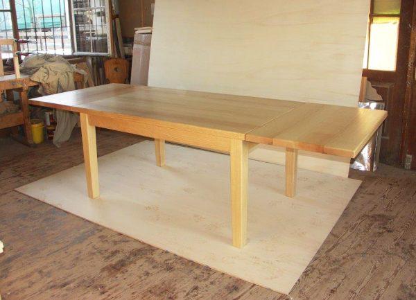 Ansteckplatten Massivholz Tisch 20200-1