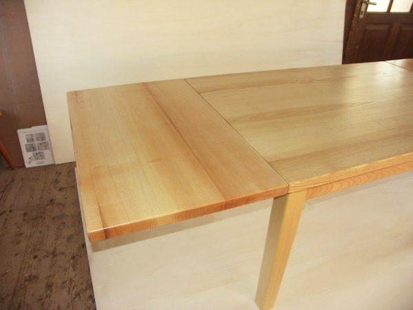 Ansteckplatten Massivholz Tisch 20200-2