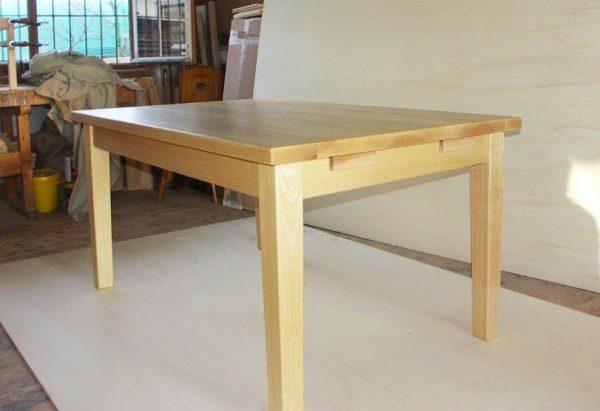 Ansteckplatten Massivholz Tisch 20200-3