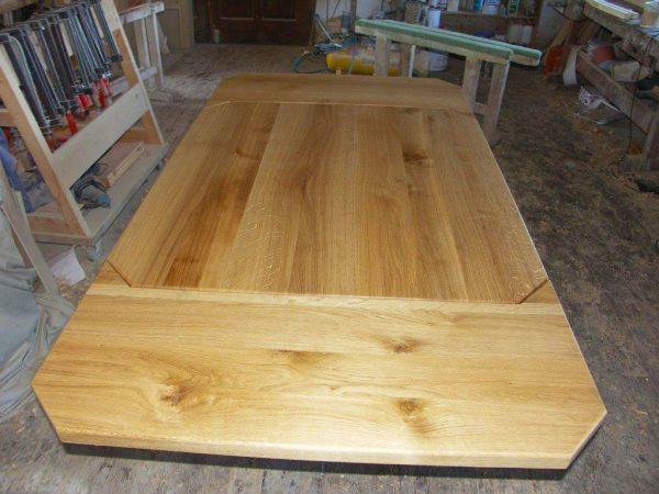 Ansteckplatten Massivholz Tisch 20300-3