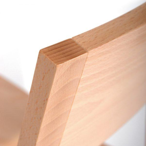 Stapelbarer Massivholz Stuhl 2530-5