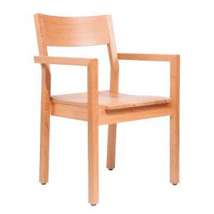 Massivholz Stuhl 2540L-2