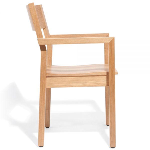Stapelbarer Massivholz Stuhl 2540L-3