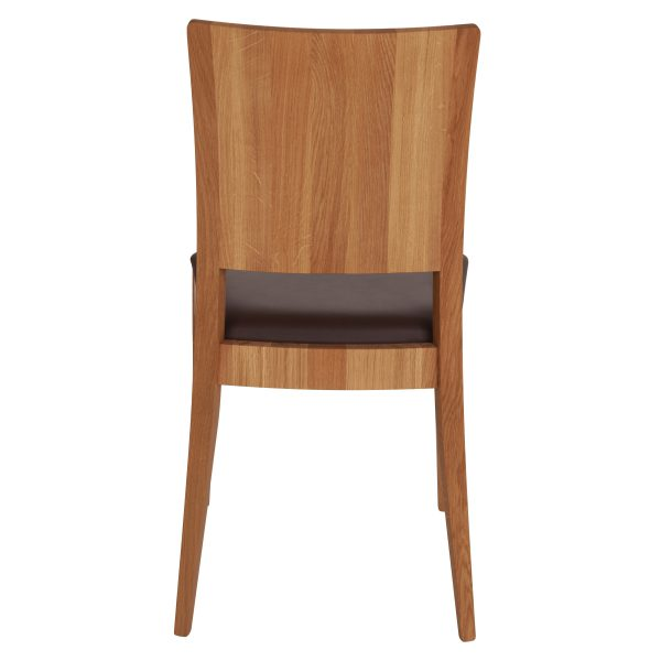 Stuhl Eiche massiv, geölt und gepolstert 900-5